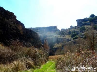 Cañón del Río Salado; Embalse El Atance; amigos la granja de san ildefonso senderismo conocer gen